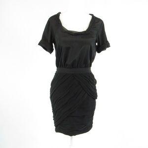 Diane von Furstenberg black sheath dress 2